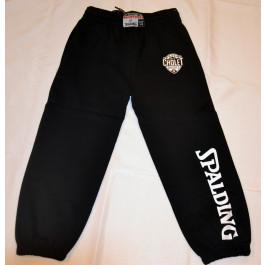 Bas de survêtement Team Long Pant noir Spalding Enfant