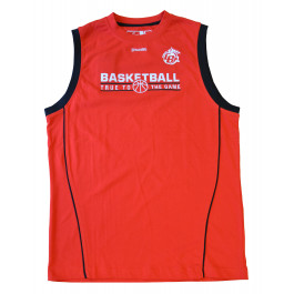 TEAM TANK TOP ROUGE/NOIR