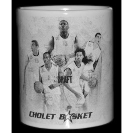 MUG COLLECTOR BLANC CHOLETAIS DRAFTES NBA